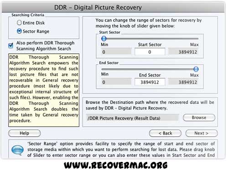 Software to get back deleted images